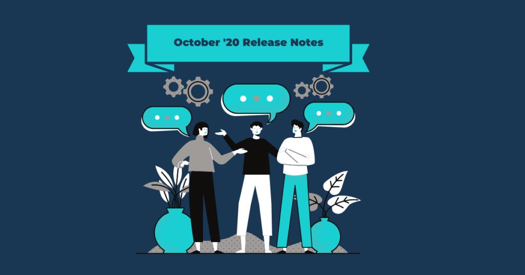 October 20 Release Notes